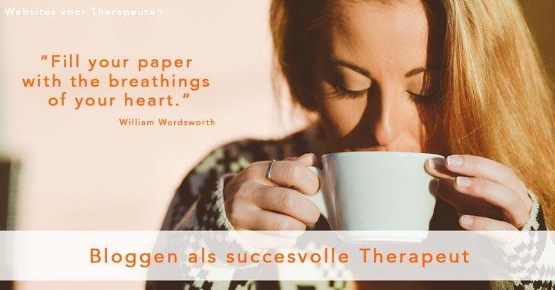 Bloggen als succesvolle therapeut