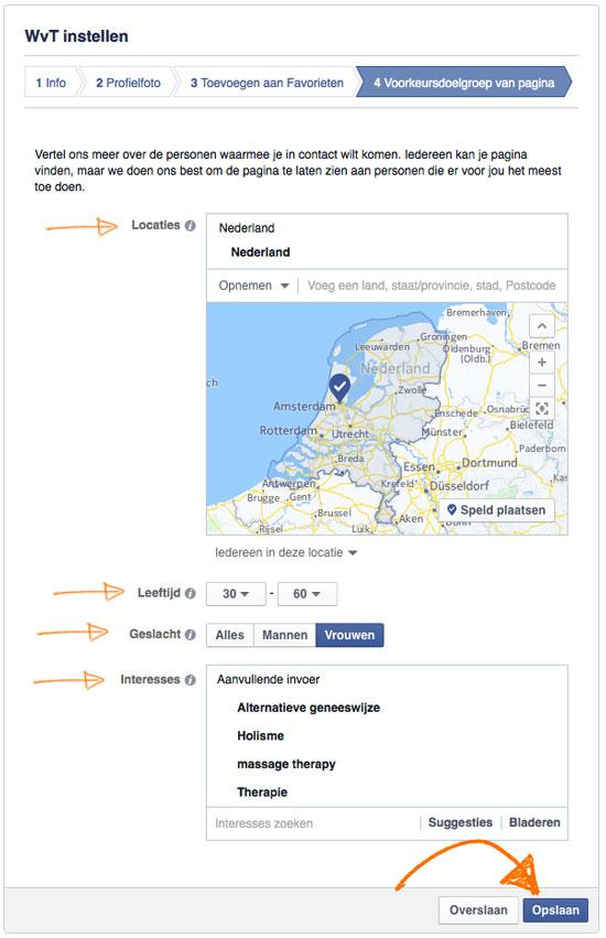 Doelgroep-facebook-bedrijfspagina