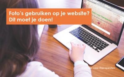 Afbeeldingen op je website gebruiken? Dit moet je doen!