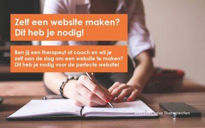 Zelf een website maken